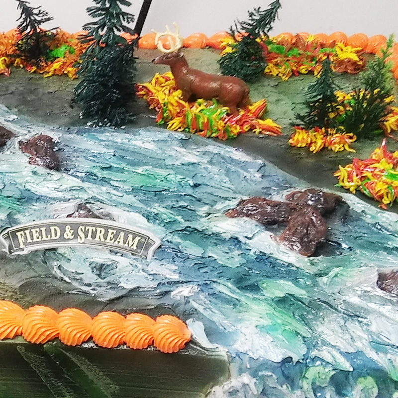 Field And Stream Cake