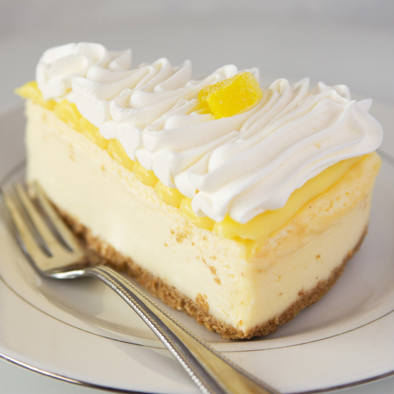 Lemon Topped Cheesecake