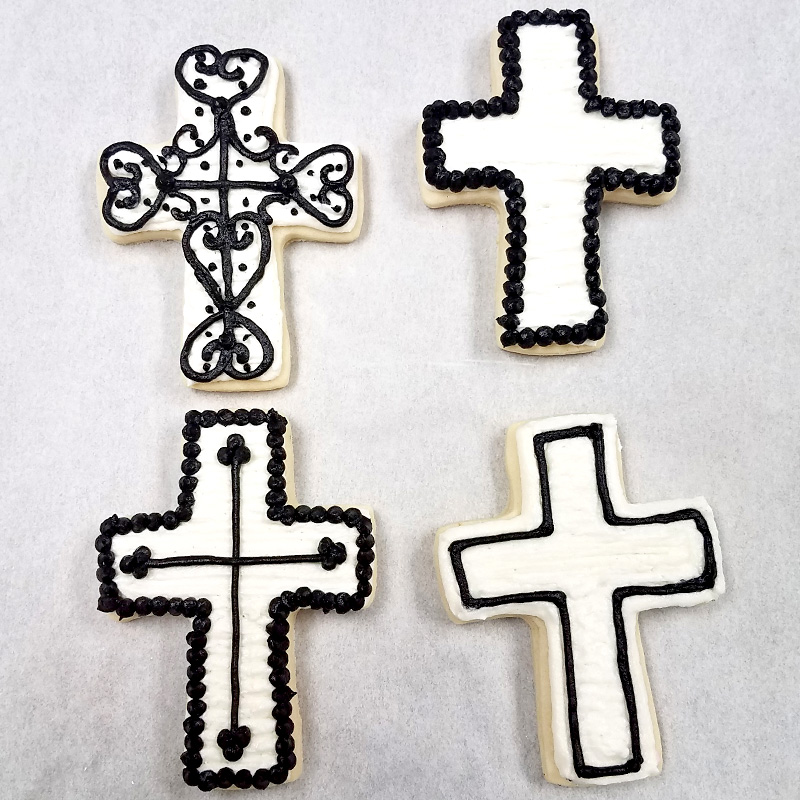 Black & White Crosses