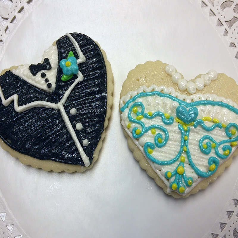 Bride And Groom Hearts 2