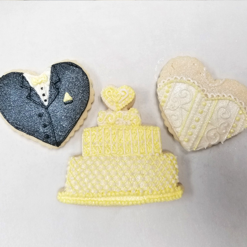 Wedding Hearts And Cake
