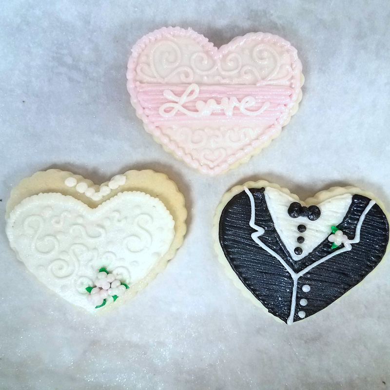 Wedding Hearts With Love 1